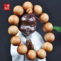 【三福远宏】正宗印度老山檀香 佛珠 手串 1.8cm 厂家直销 礼物