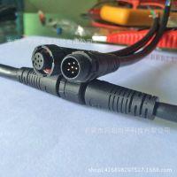 防水公母插头 2芯 线对线快速对接 电缆接头 led电源连接器 防水