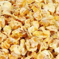 永明牌黄金豆 奶油味玉米爆米花 膨化食品批发 散装 一箱20斤