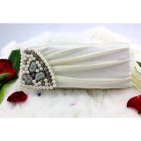 时尚晚礼必备 金丝料单面镶钻晚宴包珍珠手包外贸晚宴包厂家直销