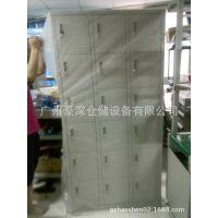 储物柜厂家推广工厂员工铁皮鞋柜、物品柜18门现货供应