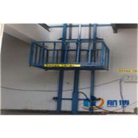 厂家订做 直销 固定导轨式液压升降机货梯液压式升降平台