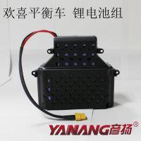 欢喜电动平衡车36V 4400mAh锂电池 体感车 思维车电池组生产厂家
