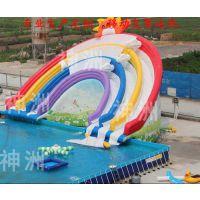 成人支架泳池定制|西安成人支架泳池|神洲水上乐园