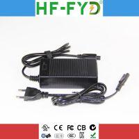 深圳宝安工厂供应29.4V2A 充电器,欧洲CE 认证29.4V2A锂电充