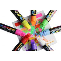 led荧光板手写笔 炫彩荧光笔 索美奇生产 可定制个性笔贴
