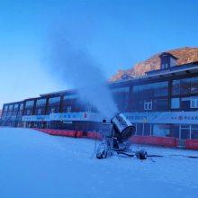 炮式造雪机工作原理 我爱发明国产造雪机