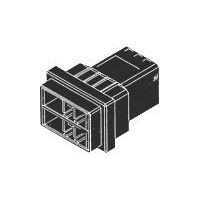 线到线D4000系列连接器3-1903330-3插头公端黑色现货