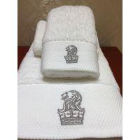 厂家直销星级宾馆酒店布草纯棉加厚白色毛巾浴巾面巾方巾地巾