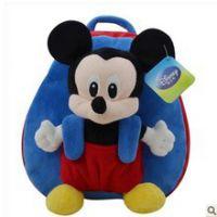 最热销迪士尼米老鼠儿童书包 幼儿园可爱书包 库存礼品