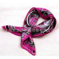 【大量供应】真丝丝巾数码印花 雪纺丝巾数码印花