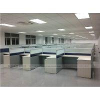 上海办公家具厂家直销 办公桌屏风组合 屏风隔断办公桌4人位A2