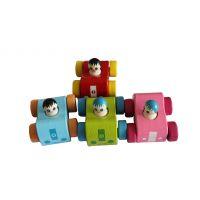 热销 卡通玩具汽车模型批发 bb车 81375 木质工艺品 儿童玩具