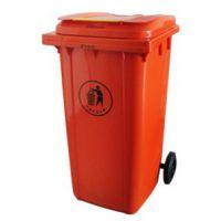 山西垃圾桶厂家、中天240L塑料挂车垃圾桶批发