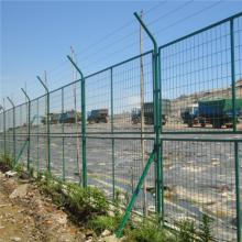 万泰浸塑围栏网 防攀爬护栏网 带边框防护网