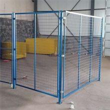 热镀锌护栏网 四川护栏网厂 道路隔离铁丝网生产