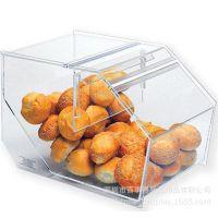 亚克力食品展示盒/糖果蛋糕展示盒展示架/高档食品包装盒/可定制