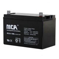 MCA蓄电池12v100ah报价 参数