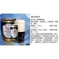 易拉罐德国啤酒,500ml听装德国威赛迩啤酒面向全国招商