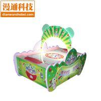 儿童电玩游戏机曲棍球气垫球冰球游戏机儿童乐园投币游戏机双人竞技游戏机