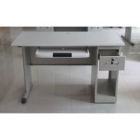 西安信通家具钢制办公桌价格学习桌电脑桌直销