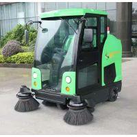 石家庄物业工厂驾驶式扫地车供应 欧洁DQS19A 驾驶式全封闭式扫地车