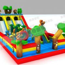 充气滑梯-充气蹦蹦床-沙滩玩具-支架水池-水上游泳
