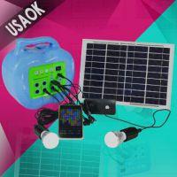 太阳能发电小系统 户外野营灯 家用发电小系统