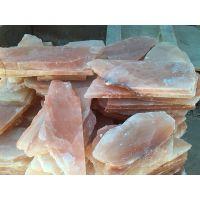 汗蒸房专用盐片 玫瑰盐块 水晶盐片 盐屋用盐块