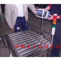 全不锈钢的滚筒秤高级防腐蚀 300公斤辊道输送秤定做