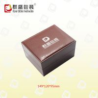 深圳厂家皮革手表盒 高档皮革盒 LOH-667
