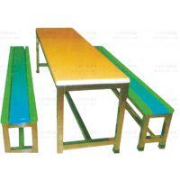长方形玻璃钢员工餐桌椅广州厂家出售