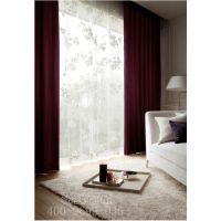 隔音窗帘定做 酒店遮光窗帘 办公室遮光窗帘--上海慕丝