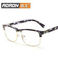 工厂直销新款男女式眼镜框时尚配镜防蓝光复古眼镜架防辐射护眼