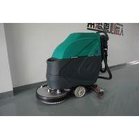依晨手推式洗地机YZ-530可长时间工作电瓶式洗地机专卖