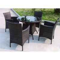 南京庭院伞配套桌椅组合、防腐木户外桌椅实木桌椅户外休闲家具