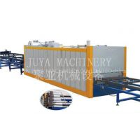wood effect finidh machine for aluminum channels