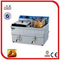供应台式燃气炸炉/休闲食品加工设备/油炸机械设备