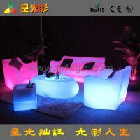 沙发大户型 现代简约多功能沙发 厂家直销美式乡村LED沙发 七彩
