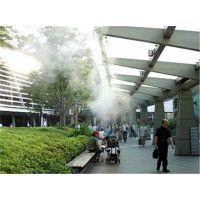 购物广场美食街走廊喷雾除尘降温系统设备装置