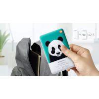 厂家供应熊猫卡通移动电源 10300毫安私模充电宝批发