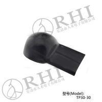 人禾/RHI供应电瓶铜排帽,绝缘帽,蓄电池铜排绝缘保护帽30*30