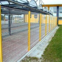 监狱护栏网 防攀爬铁丝护栏 坚固的圈地网