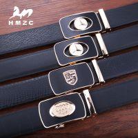 HMZC 品牌车标皮带扣爆款皮带男士 航空腰带男皮带 外贸厂家批发