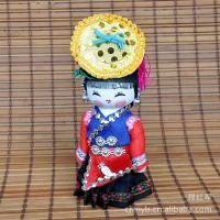 实体店批发少数民族卡通娃娃 玩具 手工制作中国彩胖娃娃L0547-33