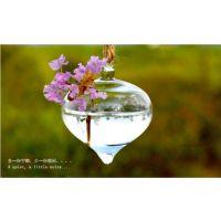 厂家直销 悬挂式洋葱玻璃花瓶 田园家居挂件水培植物吊瓶