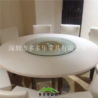 实木家具餐厅圆桌 天然大理石餐桌厂家直销