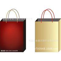 供应空白D③型底大号二维码购物袋/纸袋/手提袋大号可加印LOGO