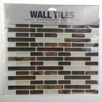 工厂直供 砖块墙纸 WALL TILES 瓷砖墙贴 可移瓷砖墙贴厂家