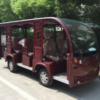 安徽合肥复古四轮电动车|六安电瓶观光车|武汉封闭旅游游览车